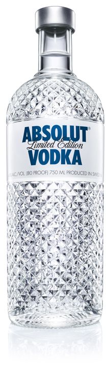 ABSOLUT VODKA, limited edition.
