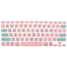 """These stretchy, snug-fitting keyboard covers will prevent your keys from wearing out. It's also much easier to clean than getting between and around each key! Compatible with: Macbook 13"""" late 2008 to"""
