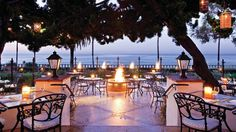 Delicious dining at Bella Vista at Four Seasons Resort The Biltmore in Santa Barbara.