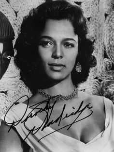 After finishing the filming of Island in the Sun, it became apparent what Dorothy Dandridge's cinematic problem would be.