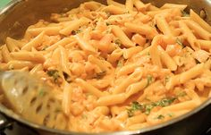Shrimp and Penne Pasta a'la Betsy ... via The Pioneer Woman ... for those that recognize lent, this would be a great friday night dinner!