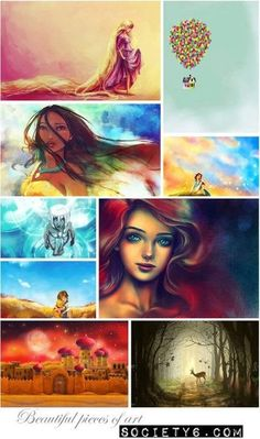 Awesome disney paintings !!