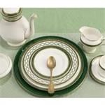 Aynsley China Evergreen 5Pc Place Setting Stoke On Trent, Dinner Plates, Bone China, Evergreen, Home Kitchens, Tea Pots, Artisan, Pottery, Pure Products
