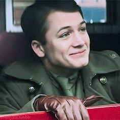 Taron Egerton #actualDisneyPrince from the movie Testament of Youth