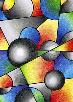 Basic Cubism? by Shalvi.deviantart.com on @DeviantArt