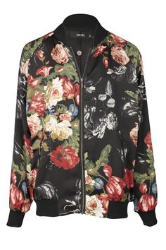 Da Bomb Floral Jacket