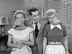 """I love lucy Ricky: """"We wont switch apartments. Do you understand what i said."""" Lucy: """"we wan swish aparments"""""""