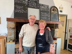 Patrick and Brigitte Grau, owners of l'Auberge de l'Ecole in Saint-Jean-de-Minervois