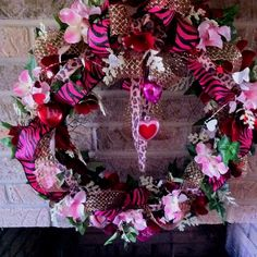 Valentines wreath! My momma is so talented!