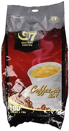 Check it out now!: Instant Premium Vietnamese Coffee, 100 Servings/Sachets at Instant Coffee. Coffee Mix, Blended Coffee, Great Coffee, My Coffee, Coffee Shop, Coffee Drinks, Coffee Maker, Coffee Sachets, Baobab Powder