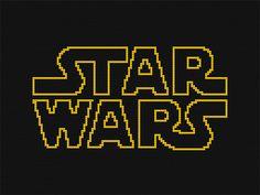 Star Wars LEGO Mosaics: The Real LEGO Star Wars. Hunts party.
