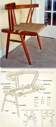 Grass Seat Chair Plans - Furniture Plans & Projects   WoodArchivist.com