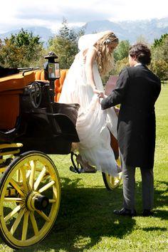 Carruaje para novias