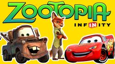We race Disney Zootopia Movie Nick Wilde against Disney Cars Lightning McQueen and Tow Mater and more in Disney Infinity 3.0! For this we used the Zootopia Toy Nick action figure and his Zootopia Police Power Disc.  Zootopia also known as Zootropolis is a Disney film that follows Judy Hopps on her adventure from farm life to the big city. There she runs into a crazy fox named Nick Wilde and together they set off on a crazy mission to find the villain.  We did not play Judy Hopps in this…