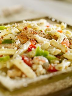 Creamy Chicken Fajita Pasta - looks delicious and most of the ingredients would be on hand.
