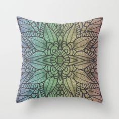 Rainbow Love #pillow #rainbow #happy