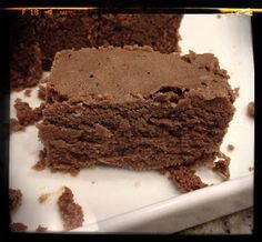 Delicias low carb: Brownie de chocolate sem carboidrato, sem gluten, e sem culpa