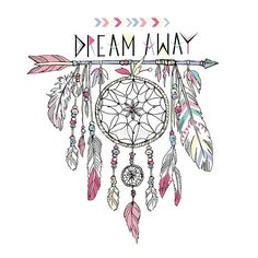 'Dream away dream catcher' Poster by Bananabro Drawing Tips dream catcher drawing Dream Catcher Drawing, Dream Catcher Mandala, Dream Catcher Tattoo, Dream Catcher Quotes, Dream Catcher Painting, Dream Catcher Outline, Dream Catcher Watercolor, Dream Catcher Tumblr, Dream Drawing