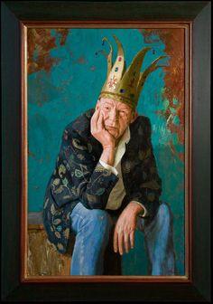 Kenne Gregoire 2012 - Peter Faber - 80 x 51 cm - acryl op linnen