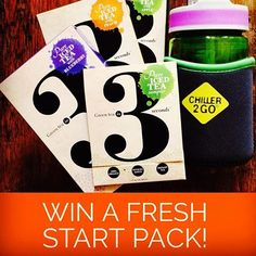 Enter to win a Fresh Start Pack Start Pack, Drink More Water, Fresh Start, Iced Tea, Blueberry, Chill, Packing, Peach, Pure Products