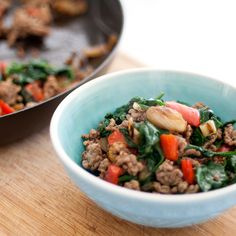 With love from ZOMT: Grass fed Quick Beef Mince Stir Fry - Weeknight Dinner {Recipe} by Zoe Tattersall Check it out at http://zomt.com.au/2014/05/quick-beef-mince-stir-fry-recipe.html