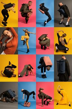 Ucon Acrobatics on Behance Human Poses Reference, Pose Reference Photo, Portrait Photography Poses, Photo Poses, High Fashion Poses, Kreative Portraits, Shotting Photo, Foto Fashion, Poses References