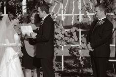 Veramar Vineyard Wedding Ceremony Vintage Style