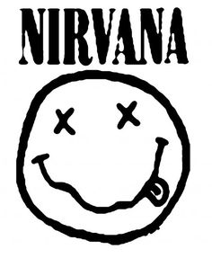 pearl jam coloring pages | How to Draw Nirvana Smiley Face liked on Polyvore ...