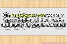 Go on essaytyper.com!