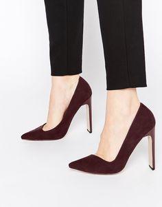 7c928d33 Imagen 1 de Zapatos de tacón alto en punta PREFECTS de ASOS Tipos De Zapatos ,