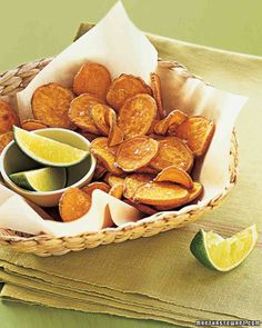 Baked Sweet-Potato Chips