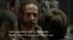 "Rick's Quote | ""No Sanctuary"" S5E1 