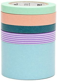 mt Washi Masking Tape - Suite Q (Pack of 5) MT http://www.amazon.co.uk/dp/B007JU5G6M/ref=cm_sw_r_pi_dp_r7bQwb00THBN6