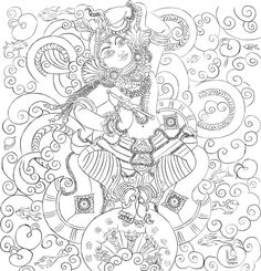 Kaliya Mardanam by manukblm on deviantART