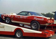 Vintage Drag Racing - Pro Stock - Sox & Martin