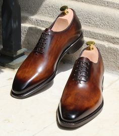 44364358c39 Bondeno s The Carlo wholecut oxford. Italian made-to-measure dress shoes  for men