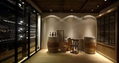 Degré 12   Metaal wijnkast - Sliding - Brugge 2013