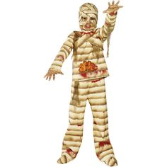 Gutsy Mummy Costume. http://www.novelties-direct.co.uk/Gutsy-Mummy-Costume-Top-Trousers-Gloves-Headpiece-and-Shoe-Covers.html
