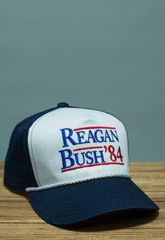 Rowdy Gentleman Reagan Bush Rope Hat in Navy White Navy 1a6fb2aad991