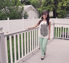 love the mint jeans