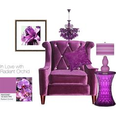"""""""RADIANT ORCHID"""" by clairecoloursme on Polyvore"""