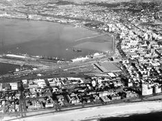 Durban Harbour Aerial view | by HiltonT News South Africa, Durban South Africa, Steam Locomotive, When Us, Aerial View, Historical Photos, City Photo, Old Things, History