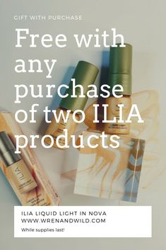 Receive a free ILIA Liquid Light in NOVA when you purchase any two ILIA products! Get that summer glow! #cleanbeauty #cleanmakeup #summerglow #highlightermakeup #giftguide #summerstyle Highlighter Makeup, Concealer, Organic Skin Care, Natural Skin Care, One Love Organics, Skin Serum, Clean Makeup, Eye Primer, Summer Glow