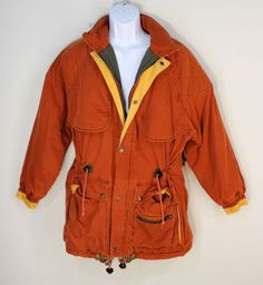 "Banana Republic Vintage Bush Jacket Parka Mens Small 44"" Chest Quilted Shoulder #BananaRepublic #Parka"