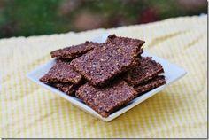 Choosing Raw - vegan and raw recipes   Raw Cocoa Crackers