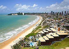 Ponta Negra beach, Natal, Rio Grande do Norte, Brazil