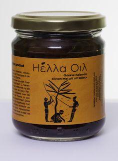 Hella Oil olives Kalamon (Kalamata) from Sparta