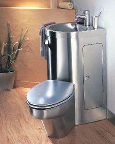 Small Bathrooms Fixtures 4 water saving toilet designs / 4 designs de toilette pour