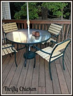 Charmant How To Repair Vinyl Strap Patio Chairs | TiPs | Pinterest | Patios, Yards  And Backyard