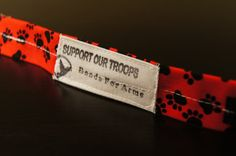 The K9 Military Support RED Bracelet